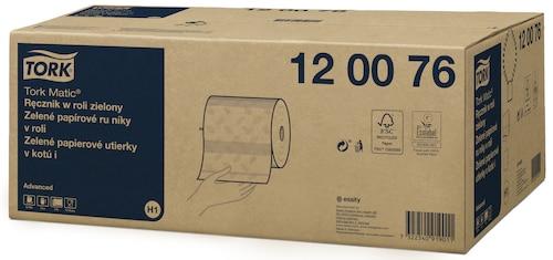 Tork Matic® ręcznik w roli zielony Advanced
