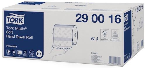 Tork Matic® Soft håndklædeark på rulle, H1