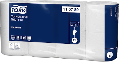 Tork Conventional Toilet Roll Universal - 2-Laags