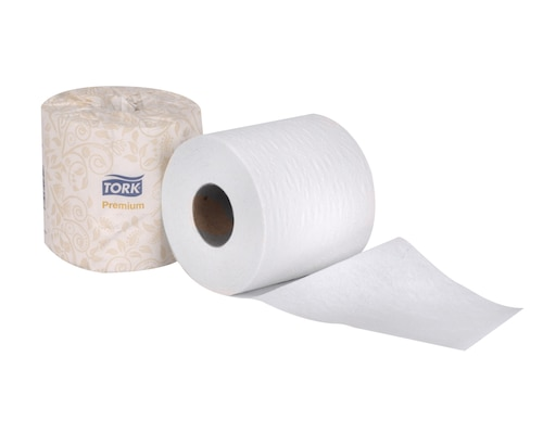 Tork Premium Soft Bath Tissue Roll, 2-Ply