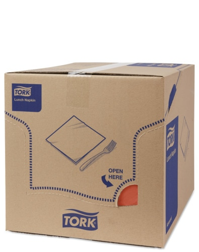 Tork Mjuk Lunchservett Terracotta
