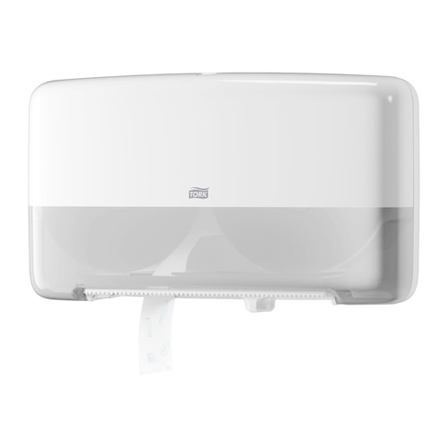 Tork®  Twin Mini Jumbo Toilet Roll Dispenser