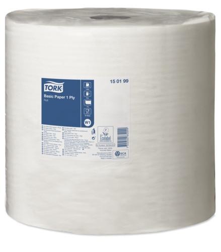 Tork Basic Papper – 1-lagerspapper