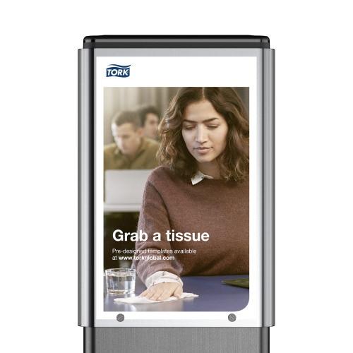 Tork higiéniai állványra helyezhető AD-A-Glance® panel