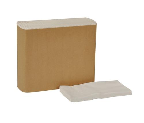 Grandes serviettes de table Tork Universal, pli 1/8