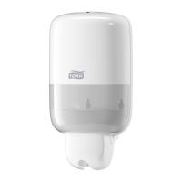 Tork Mini Liquid Soap Dispenser White