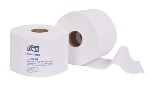 Tork Premium Bath Tissue Roll with OptiCore®