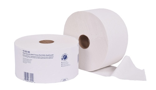 Tork Universal High-Capacity Bath Tissue Roll with OptiCore®
