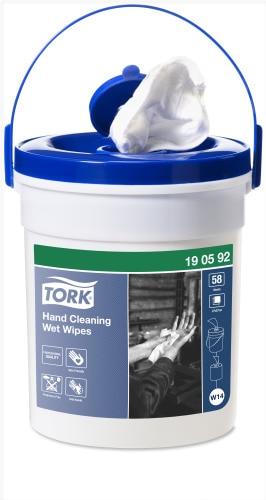 Tork Vochtige Reinigingsdoekjes voor Handen