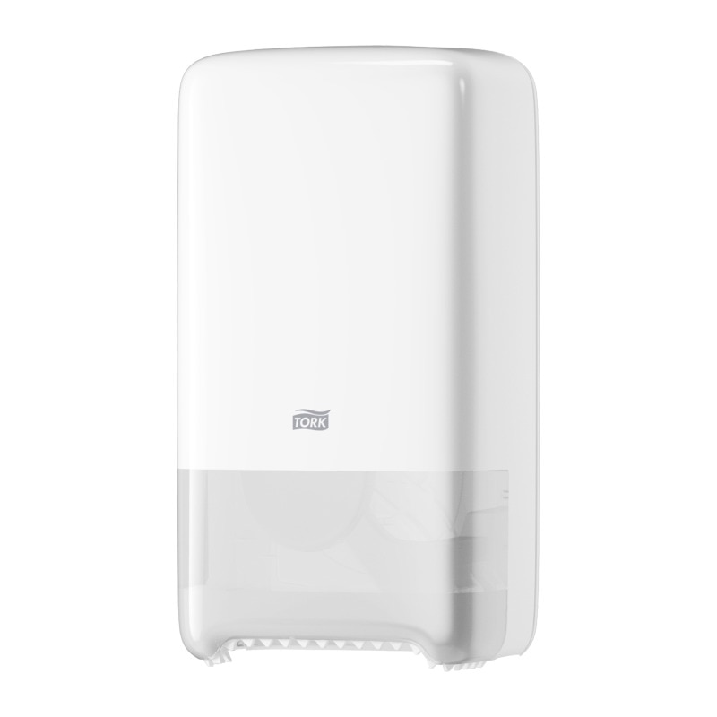 Dispensador de rollos de papel higi/énico Tork SmartOne color blanco 2 unidades