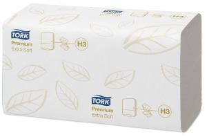 Tork Singlefold extra jemné papierové utierky Premium