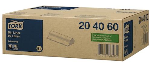 Tork σακούλες απορριμμάτων 50L