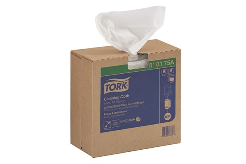 Tork Cleaning Cloth, Pop-Up Box