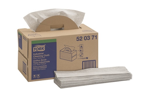 Tork Industrial Cleaning Cloth, Handy Box