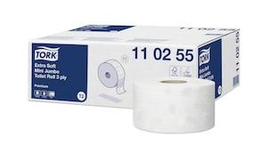 Tork Extra Soft toaletní papír Mini Jumbo role Premium – 3vrstvý