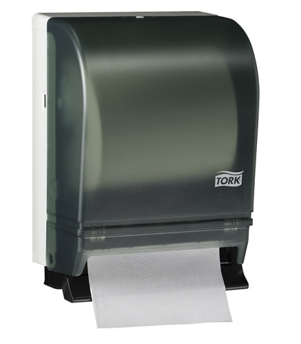 Tork Hand Towel Roll Dispenser, Push-Bar Auto Transfer