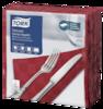 Tork șervețele de masă Dinner Textured roșu bordo