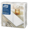 Tork Premium LinStyle® White Dinner Napkin 1/8 Folded