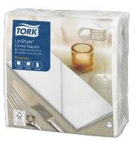 Tork Linstyle White Dinner Napkin