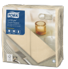 Tork Premium Linstyle® Cream Dinner Napkin 1/8 Folded