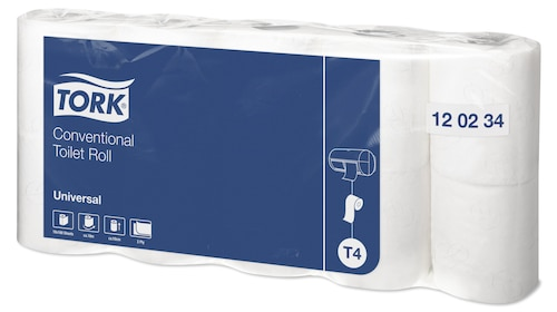 Tork Conventional Toilet Roll Universal - 2 Ply
