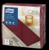 Tork Premium LinStyle® Burgundy Dinner Napkin 1/8 Folded