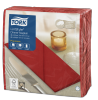 Tork Premium LinStyle® Rød Middagsserviett 1/8-fold