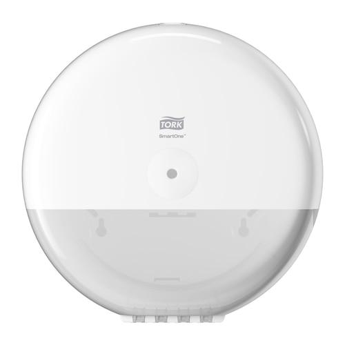 """""""Tork SmartOne®"""" baltas tualetinio popieriaus ritinėlių dozatorius"""