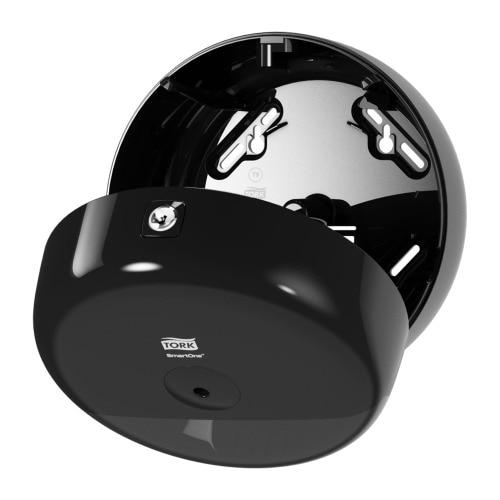 Tork SmartOne® Mini Toilet Roll Dispenser Black