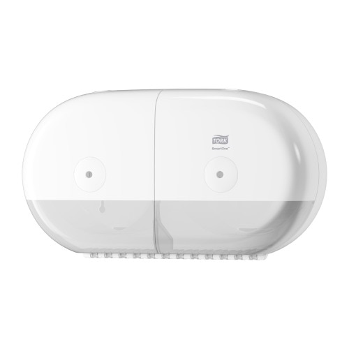 Tork SmartOne® Twin Mini Toilet Roll Dispenser
