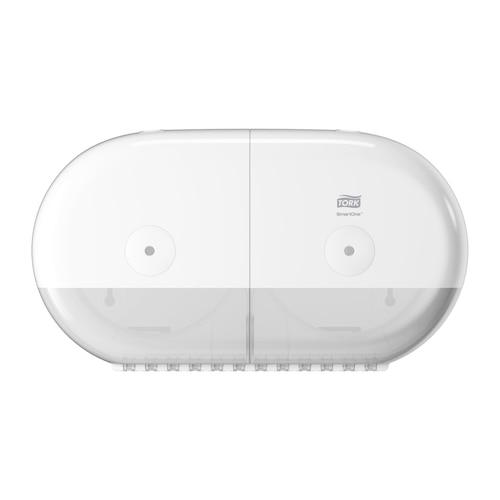 Tork SmartOne® Twin Mini Toilet Roll Disp White