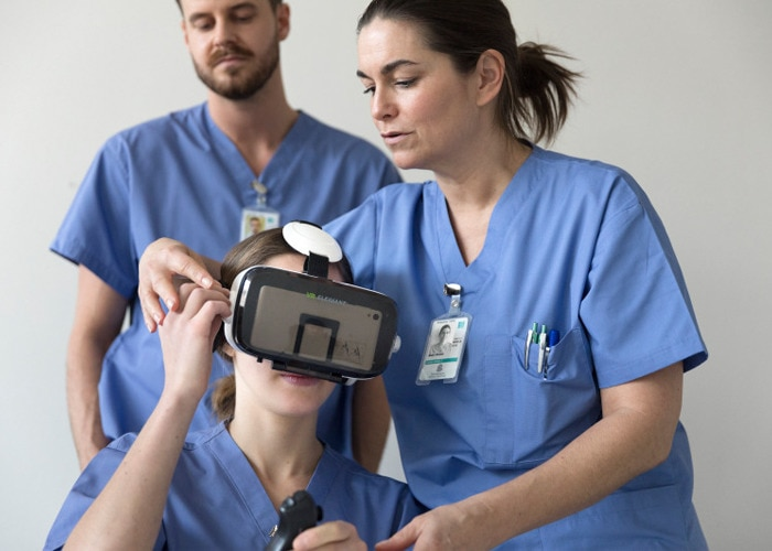 Improve your hand hygiene in virtual reality