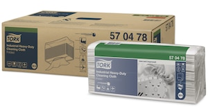 Tork Industrial Heavy-Duty Cleaning Cloth