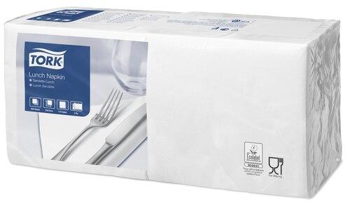 Tork Serviette Lunch, Blanc
