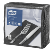 Tork Black Dinner Napkin 1/8 Folded