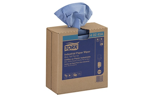 Tork Industrial Paper Wiper, Pop-Up Box