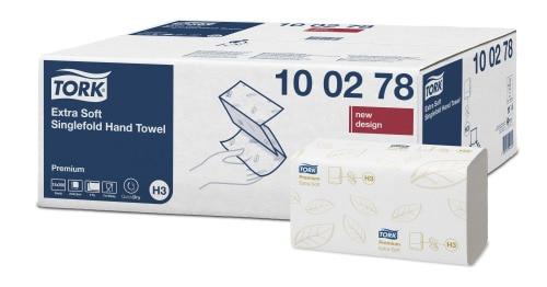 Tork extra weiches Zickzack Handtuch Premium