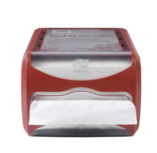 Tork Servilletero Xpressnap® Counter Rojo