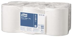 Papel básico Tork de 1 capa