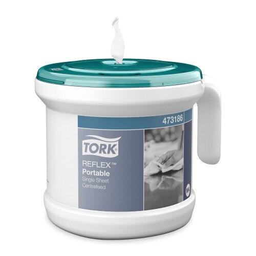 Tork® ReflexTM Dispensador Portátil con Toalla