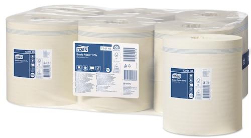 Tork Basic Papir 1-lags