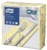 Tork Textured Champagne Dinner Napkin 1/8 Folded