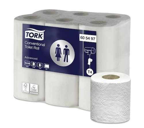 Tork Papel higiénico Convencional Soft da Linha Advanced - 2 folhas