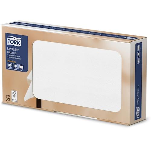 Скатерти Tork Premium LinStyle® белые