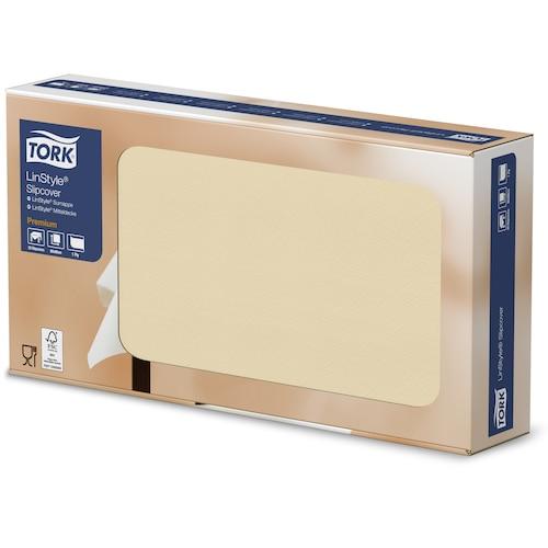Tork Premium LinStyle® Stikdug Cremefarvet