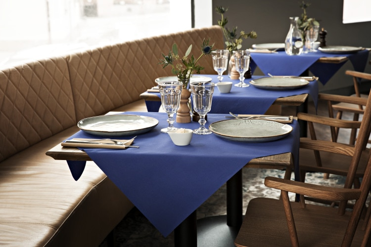 Linstyle tableware blue