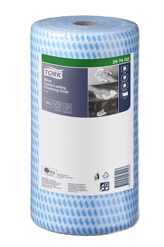 Tork® Blue Heavy-Duty Colour Coded Cleaning Cloth