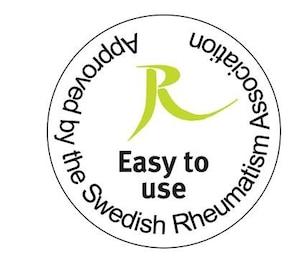 """Fácil de usar (Swedish Rheumatism Association): Pon la higiene a disposición de todos: muchos sistemas de higiene de Tork tienen la certificación """"Facilidad de uso"""" de la Asociación Sueca de Reumatismo."""