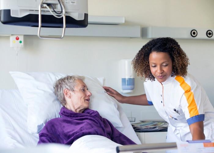 Después del contacto con el entorno del paciente