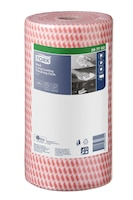 Tork Red Heavy-Duty Colour Coded Cleaning Cloth